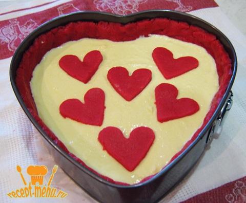 украсить творожный пирог