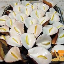 бисквитное печенье каллы