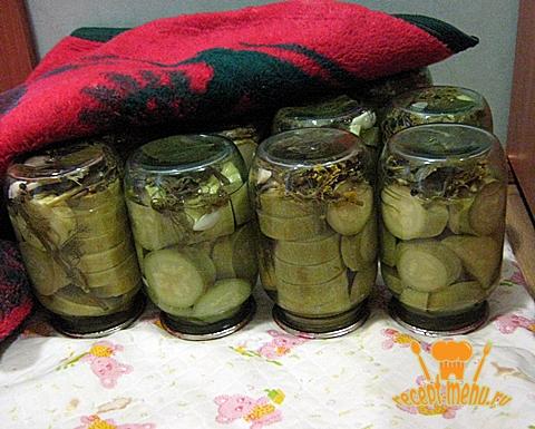 домашние консервированные кабачки