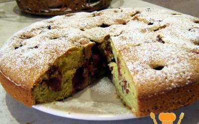 пирог с клубникой простой рецепт