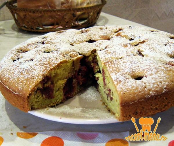 Быстрый и простой сладкий пирог рецепт 34