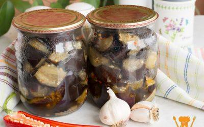 Баклажаны как грибы консервированные на зиму