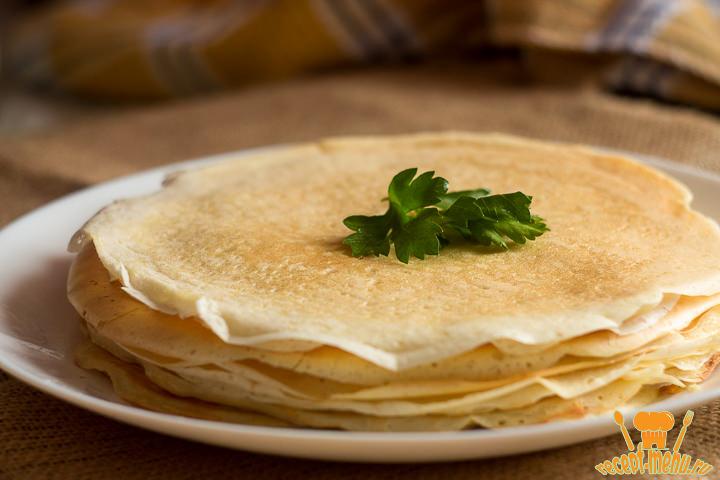 Блины на дрожжах тонкие с дырочками рецепт с пошагово вкусные