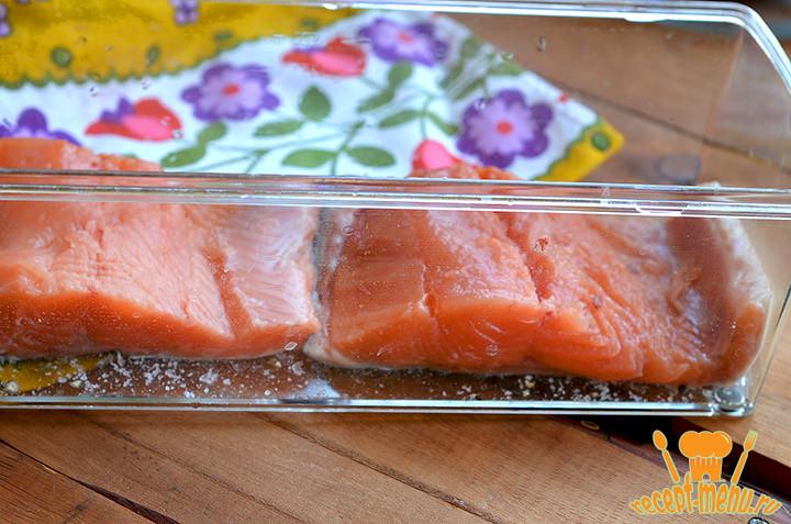 Рецепт засолки красной рыбы с водкой в домашних условиях