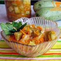консервированный салат из кабачков на зиму