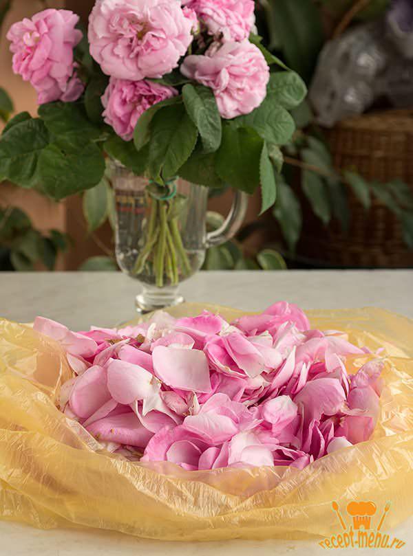 лепестки роз для варенья