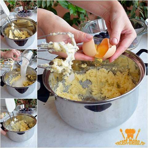 приготовление песочно-молочного теста