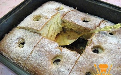 пирог со сливами - рецепт