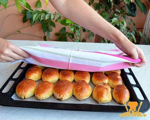 пирожки духовые с яблоками