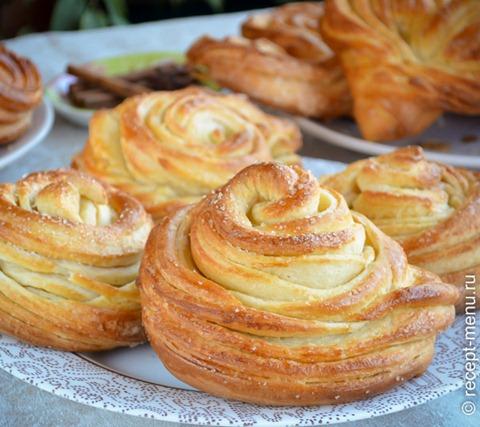 пошаговый рецепт вкуснейшие булочки с сахаром