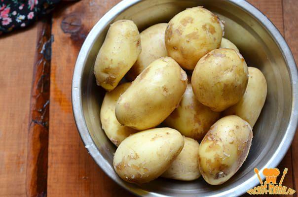 помыть картошку