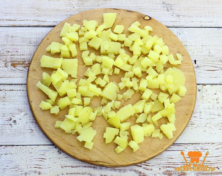 Порезать картошку