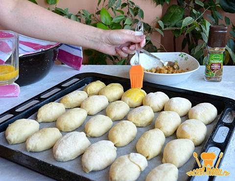 рецепт духовых пирожков с яблоками