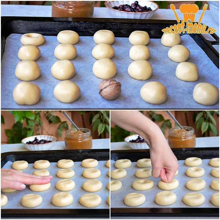 тесто делать печенье