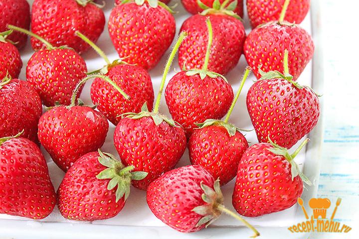 Замороженные ягоды клубники