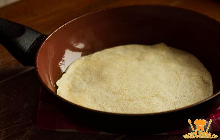 блины без молока рецепт с фото тонкие