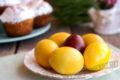 Как покрасить яйца куркумой на Пасху