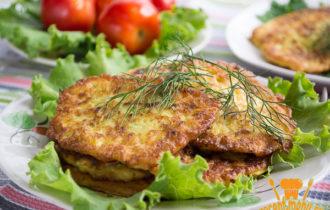 оладьи из кабачков базовый рецепт