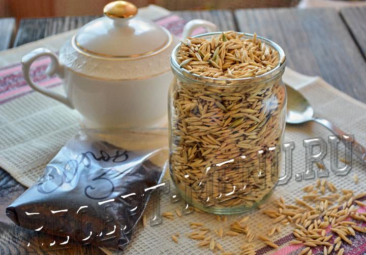 Ингредиенты для приготовления овсяного кваса