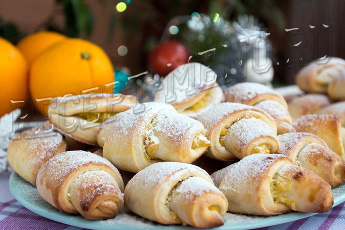 Апельсиновое печенье - рецепт пошаговый с фото