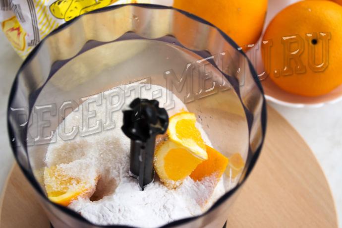 Апельсин с сахаром