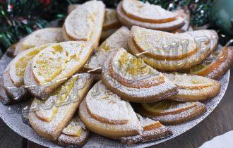 Печенье с апельсинами
