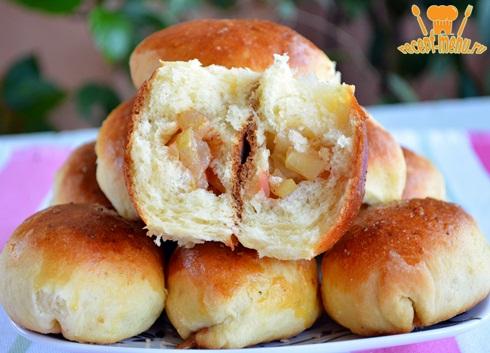 Как сделать пирожки с яблоками