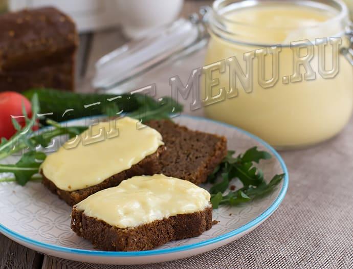 Бутерброд с плавленным сыром